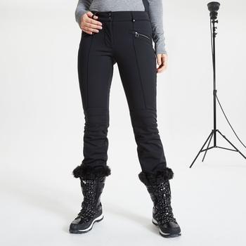 Damskie spodnie narciarskie Dare2B Bejewel zdobione kryształkami Swarovski czarne