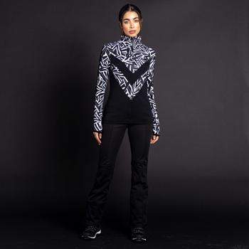 Damskie spodnie narciarskie Dare2b x JM Beau Monde czarne