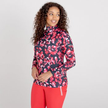 Damska bluza termoaktywna Dare2B Divulge czerwona