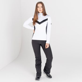 Damskie spodnie z kryształkami Swarovski Dare2B Bejewel II czarne