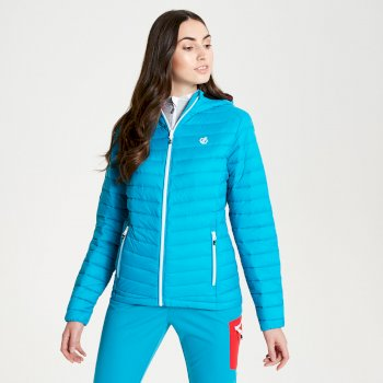 Dare 2b - Womens' Elative Down Fill Insulated Jacket Fresh Water Blue