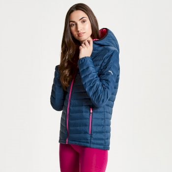 Dare 2b - Womens' Elative Down Fill Insulated Jacket Blue Wing