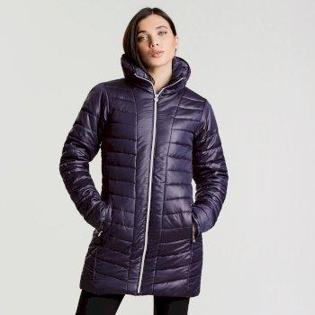 Women s Longline Luxe Ski Jacket Inkwell 28ca6b874