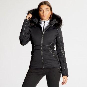 Damska kurtka narciarska Dare2b Highness czarna x Julien Macdonald