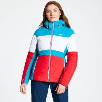 Damska kurtka narciarska Dare2b Avowal Niebieska