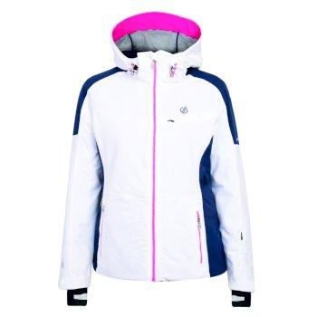 Dare 2b - Women's Inventor Ski Jacket White Blue Wing
