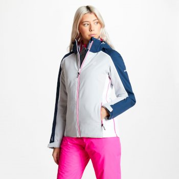 Dare 2b - Women's Comity Ski Jacket Argent Grey Blue Wing