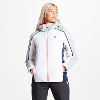 Dare 2b - Women's Comity Ski Jacket White Argent Grey