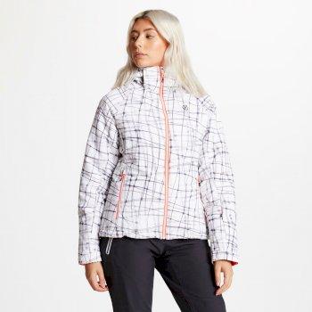 Dare 2b - Women's Encompass Printed Ski Jacket White