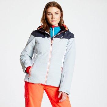 Dare 2b - Women's Sightly Ski Jacket Argent Grey Ebony