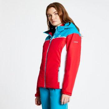 Dare 2b - Women's Sightly Ski Jacket Lollipop Red Freshwater Blue