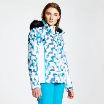 Dare 2b - Women's Copious Printed Ski Jacket Blue Wing