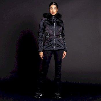 Damska kurtka narciarska Dare2b x JM Resplandent czarna