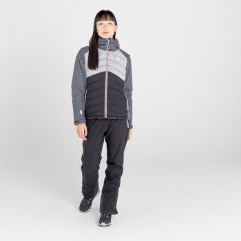 Dare 2b - Women's Coded Waterproof Insulated Ski Jacket Ebony Grey Ash Grey Marl