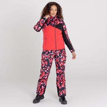 Dare 2b - Women's Determined Waterproof Insulated Ski Jacket Lollipop Red Black