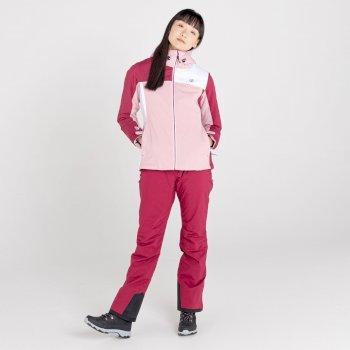 Damska kurtka narciarska Dare2B Ice Gleam II bordowa
