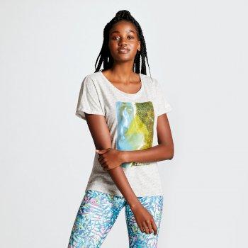 Dare 2b - Women's Summer Days Graphic T-Shirt Argent Grey