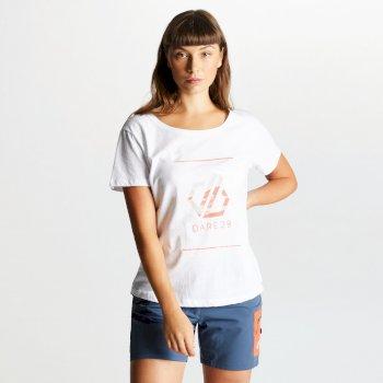 Dare 2b - Women's Glow Up Printed T-Shirt White