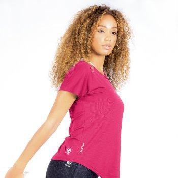 Dare 2b Damen Womens Defy Lightweight Wicking Short Sleeve T Shirt