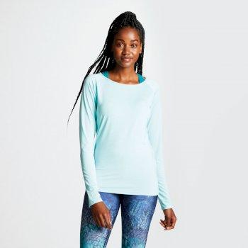 Dare 2b - Women's Riposte Long Sleeve Cutout Top Aruba Blue