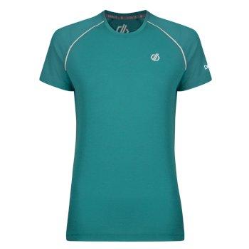 Dare 2b - Women's Instate Wool T-Shirt Caribbean Green