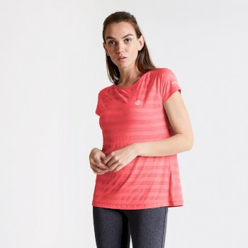 Dare 2b - Women's Defy Quick Drying T-Shirt Fiery Coral