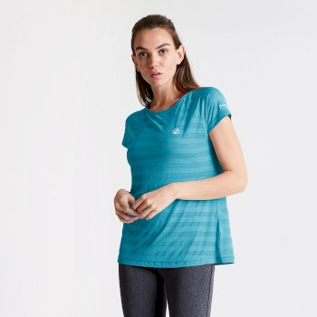 Damski T-shirt Dare2B Defy niebieski