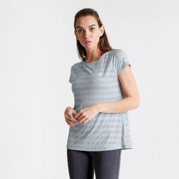 Damski T-shirt Dare2B Defy jasnoszary