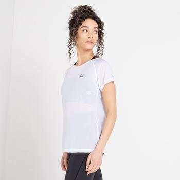 Damski t-shirt Dare2b Defy biały