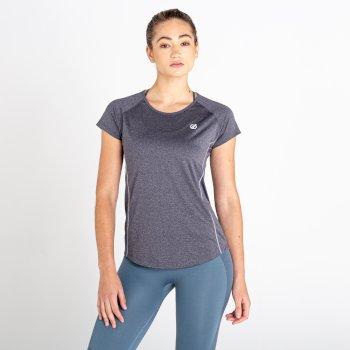 Dare 2b - Women's Corral Quick Drying T-Shirt Ebony Grey