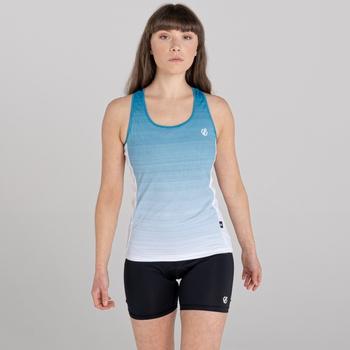 Dare 2b - Women's Explicate Printed Vest Freshwater Blue White