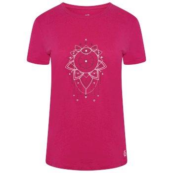 Damska koszulka Ease Of Mind Dare2B różowa