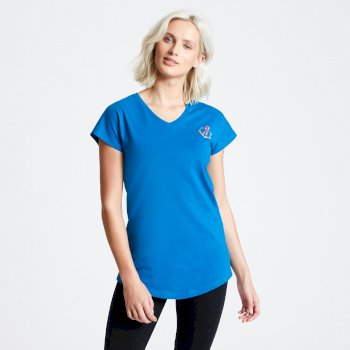 Dare 2b - Women's Pastime T-Shirt Petrol Blue