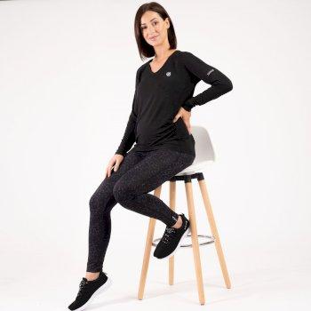 Dare 2b - Women's Maternity Discern Long Sleeve T-Shirt Black