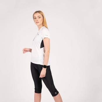Damska koszulka Outdare II Dare2B biało-czarna