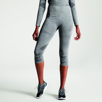 Dare 2b - Women's Zonal III 3/4 Legging Base Layer Charcoal Grey