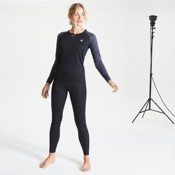 Dare 2b - Women's Exchange Thermal Base Layer Set Black Ebony Grey