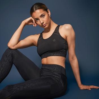 Dare 2b -  Women's No Excuse Mesh Detail Sports Bra Black