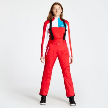 Women's Effused Ski Pants Lollipop Red