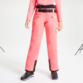 Dare 2b - Women's Liberty II Waterproof Insulated Ski Pants Neon Pink