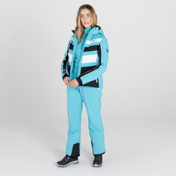 Dare 2b - Women's Effused II Waterproof Ski Pants Azure Blue