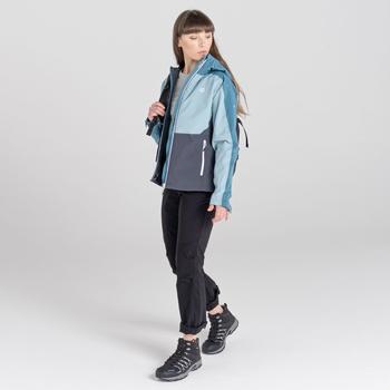 Damska kurtka przeciwdeszczowa Compete II niebieska