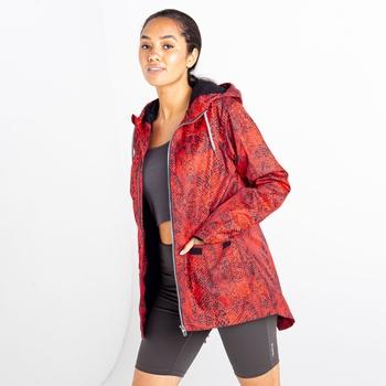 Dare 2b - Women's Deviation II Lightweight Jacket Red Viper Print