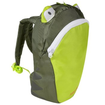 Kids' Zephyr Animal Day Pack Frog Green