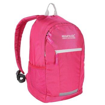 Kids' Jaxon Ill 10L Rucksack Hot Pink Platinum