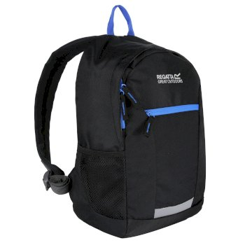 Kids' Jaxon Ill 10L Rucksack Black French Blue