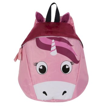 Kids' Roary Animal Backpack Pink Unicorn