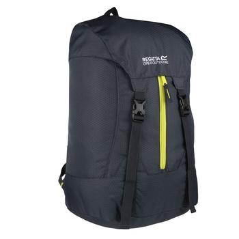 Easypack II 25L Packaway Backpack Ebony Neon Spring