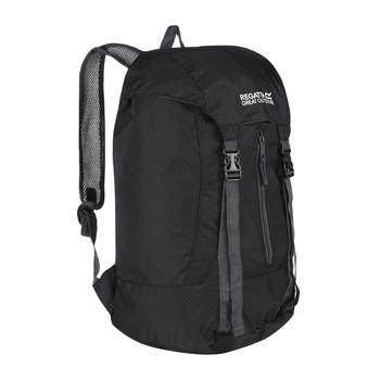 Easypack II 25 Litre Lightweight Packaway Backpack Rucksack Black e0bcd40ea1732