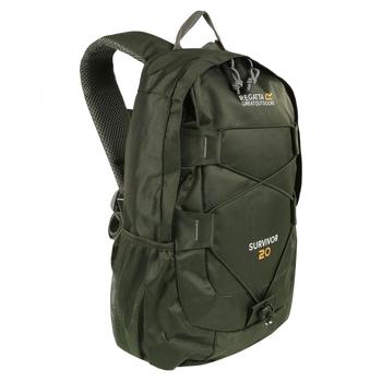 Zielony plecak Survivor III 20L
